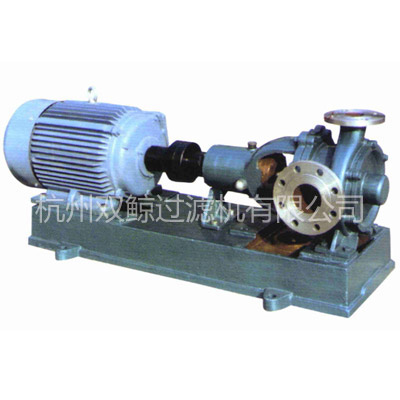 Filter press feed pumps